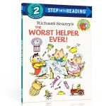顺丰发货 英文原版分级阅读绘本 兰登书屋Step into Reading Level 2 Richard Scarr