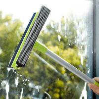 红兔子(HONGTUZI) 长手柄双面玻璃清洁器浴室厨房瓷砖墙壁刷刮水器擦搽窗户小工具