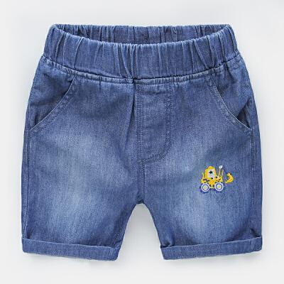 男童牛仔短裤热裤中裤 2018夏装韩版新款童装 宝宝儿童裤子 发货周期:一般在付款后2-90天左右发货,具体发货时间请以与客服协商的时间为准