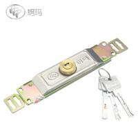 半腰位置卷闸门锁纯铜锁芯中间腰部卷帘门锁中间门锁防盗门锁