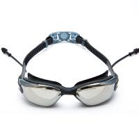 泳镜男女大框防水防雾高清电镀游泳眼镜潜水休闲运动装备新品