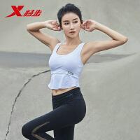 特步运动胸衣女运动内衣缓震聚拢支撑跑步健身综训运动背心式内衣882228939149