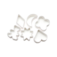 法克曼6件装饼干模 糕点模具烘培用蛋糕模具 5230081