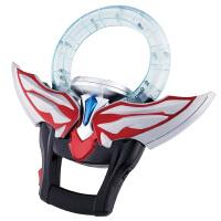 万代(BANDAI)奥特曼欧布之环融合升级变身套装变身器(配二张卡片)/声光欧布圣剑(配三张卡片)