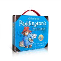 顺丰发货 小熊帕丁顿200年纪念合集 Paddington Suitcase Michael Bond 帕丁顿的手提箱8本礼品套装 Paddington at the Zoo