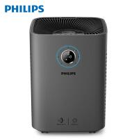 飞利浦(PHILIPS) 空气净化器 智能家用卧室除雾霾甲醛PM2.5 气体感测AC5655/00碳黑-600立方米/