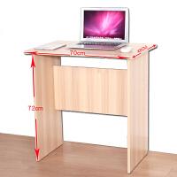 简易桌子迷你电脑桌台式家用书桌带抽屉写字台简约70CM小型电脑桌