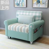 折叠沙发床两用可折叠客厅双人小户型多功能简约现代沙发定制 外径1.0米【颜色备注】 高密度海绵升级款 1.8米-2米