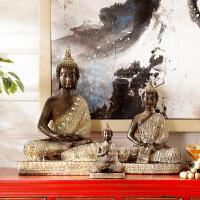 奇居良品 家居装饰品树脂工艺摆件 菩提系列家居风水摆件