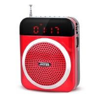 夏新(Amoi)V88 便携式插卡音响 广场舞音箱老人收音机小蜜蜂扩音器mp3音乐播放器