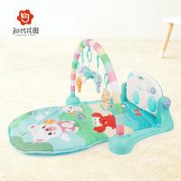 贝恩施 知识花园婴儿健器3-9个月新生儿音乐脚踏琴健身架宝宝健身玩具