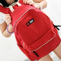 新款潮流男女背包电脑包韩版时尚学院风双肩包休闲包高中学生书包