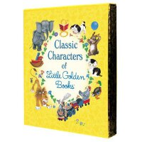 Classic Characters of Little Golden Books 金色童书精选