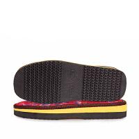 手工做棉鞋底 手工编织毛线拖鞋棉鞋和棉鞋帮半成品套装勾拖鞋子