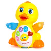 汇乐玩具808摇摆鹅鸭子婴幼儿音乐电动益智会跳舞会跑的玩具1-2岁