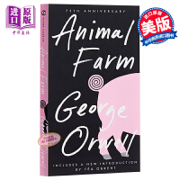 【中商原版】动物农场庄园 英文原版 Animal Farm George Orwell 乔治奥威尔 可搭1984夏洛的