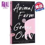 预售【中商原版】动物农场庄园 英文原版 Animal Farm George Orwell 乔治奥威尔 可搭1984夏洛的网 经典英文原版名著
