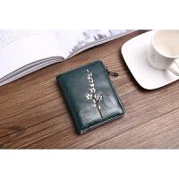零钱包女士短款新款学生小清新折叠可爱多功能韩版个性皮夹