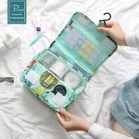户外旅行洗漱包 防水大容量化妆包旅游套装男女出差用品便携收纳袋