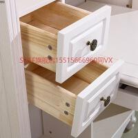 简欧家具全实木转角书桌书柜书架一体组合欧式拐角电脑桌 是