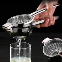 304不锈钢 手动柠檬榨汁器果语原汁机家用便携榨汁机手动果汁机