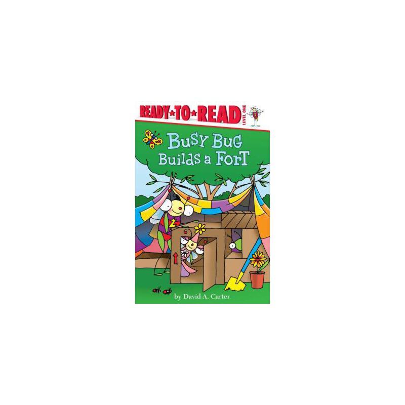 【预订】Busy Bug Builds a Fort 预订商品,需要1-3个月发货,非质量问题不接受退换货。