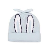 儿童帽子宝宝胎帽男女童帽子婴幼儿套头帽 保暖帽童帽
