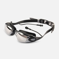游泳镜男女士高清防水防雾学生大框黑色潜水游泳眼镜新品