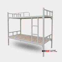 加厚铁艺床上下铺上下床铁床员工宿舍高低床学生双层床1.2米