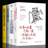 全4册好看的皮囊千篇一律有趣的灵魂万里挑一老杨的猫头鹰你的生活需要仪式感把生活过成你想要的样子善良又有锋芒成功励志书籍