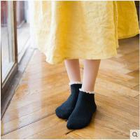 五双装春夏季女袜子日系复古森系女士棉袜蕾丝花边船袜浅口短袜子