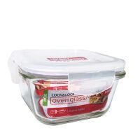 乐扣乐扣格拉斯耐热玻璃保鲜盒便当盒饭盒食品盒餐盒LLG205