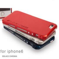 苹果6新款手机壳iPhone6保护套4.7寸金属边框ip5/5s防摔包边壳