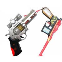 男童玩具枪2-3-4-5-6岁小男孩子电动声光带音乐儿童模型 充电器+6充电电池 购买