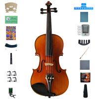 Saysn思雅晨小提琴儿童成年人新手初学者考级乐器手工实木亮光V-013配肩托四分之一二三四系列