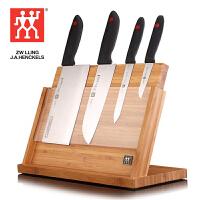 双立人Zwilling TWIN Point 刀具五件套菜刀多用刀刀架 K302