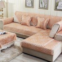 福存家居 沙发垫坐垫布艺欧式防滑四季真皮沙发巾套罩 飘窗垫