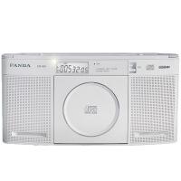熊猫/PANDA CD-60 二波段收音机USB数码播放机 壁挂台式两用机便携CD播放机