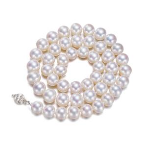 梦 梵雅 灵心天然淡水珍珠项链9-10mm