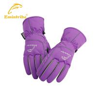 渔民部落运动保暖手套男女款 户外配件滑雪登山手套冬季防风防水  825304