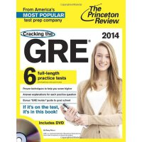 Cracking the GRE with 6 Practice Tests【英文原版】普林斯顿GRE6套考试题