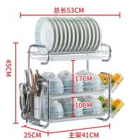 沥水碗架厨房置物架碗柜碗碟架放碗架碗筷收纳盒餐具架单层/多层