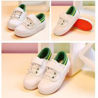 童鞋小白鞋男童布鞋女童帆布鞋儿童鞋子宝宝板鞋春秋