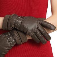 手机触屏手套女加厚冬防水款加绒防风秋冬季保暖骑车手套