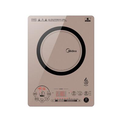 美的(Midea) C21-QH2133 恒匀火电磁炉 纤薄静音火锅炉 wifi控制恒匀火技术 专注火锅 WIFI操控