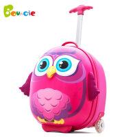 儿童拉杆箱包 幼儿园宝宝旅行箱 14寸男女学生行李箱