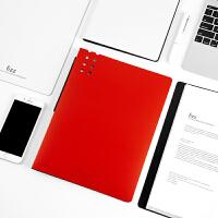 飞兹60页A4磨砂资料册立体背条文件册文件夹插页袋FZ102015