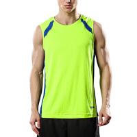 运动背心男篮球服宽松无袖T恤坎肩夏季轻薄透气服健身足球跑步速干衣 X