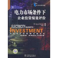 电力经济与管理译丛――电力市场条件下企业投资绩效评价