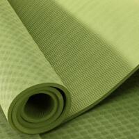 无味加长8mmtpe瑜伽垫男士胖子健身防滑瑜珈垫子加厚加宽瑜珈毯 8mm(初学者)